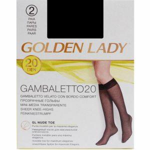 GoldenLady-knestrømpe