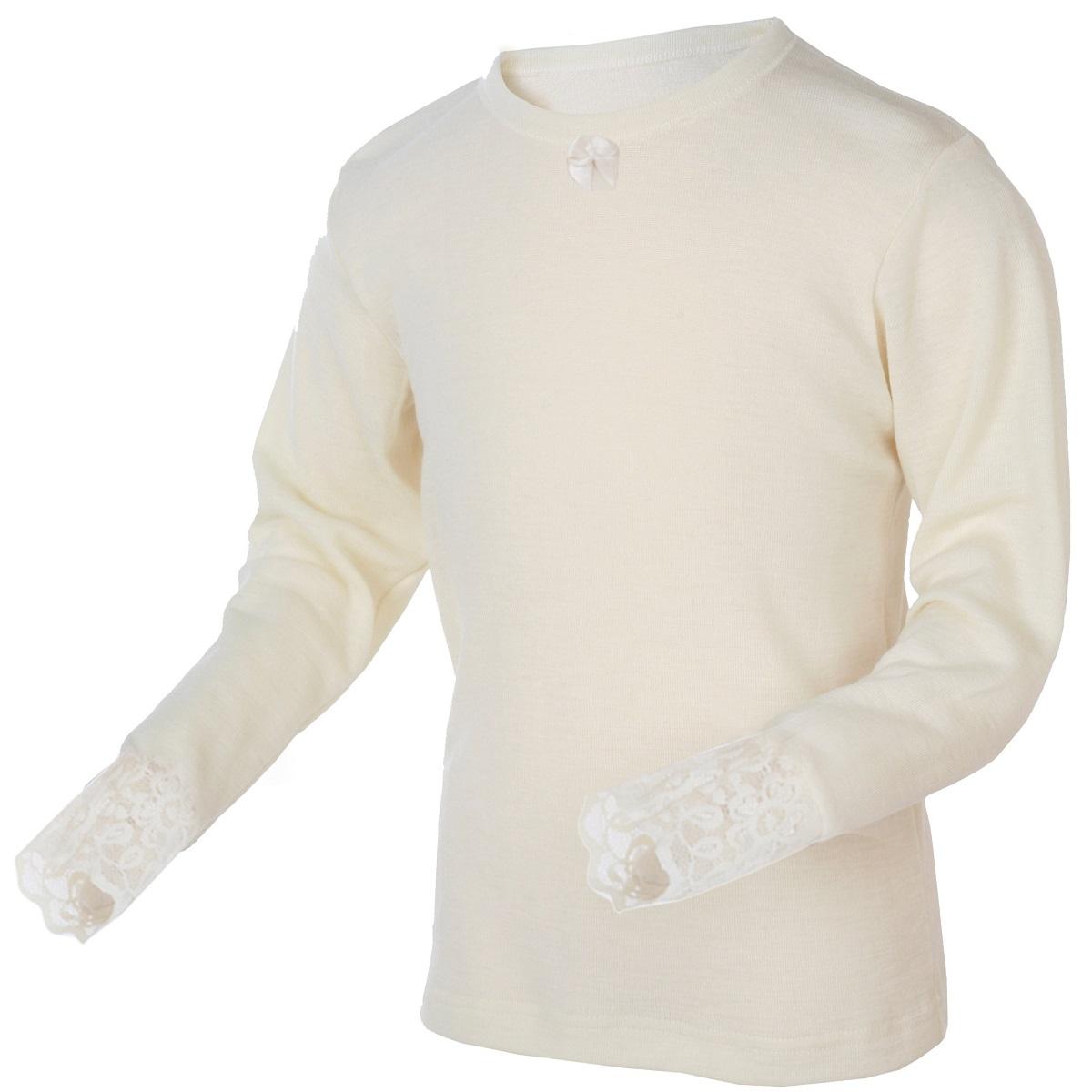 Trøyer, t skjorter og longs i ull til barn fra Janus og Safa