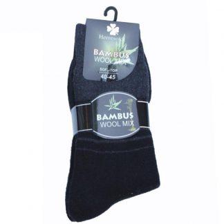 kløver-sokk-i-ull-bambus