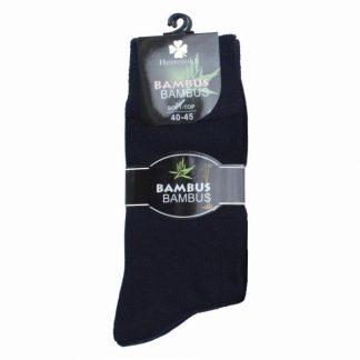 kløver-sokk-i-bambus
