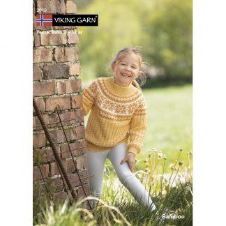 viking-garn-katalog-strikkeoppskrift-barn