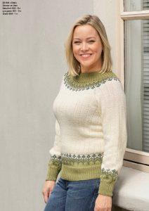 Viking-garn-strikkekatalog-dame